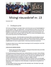 Nieuwsbrief 13