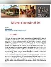 Nieuwsbrief 20